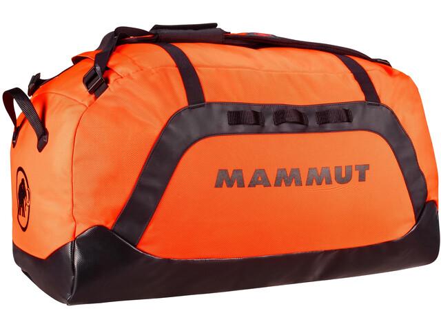 Mammut Cargon Laukku 90L, safety orange/black
